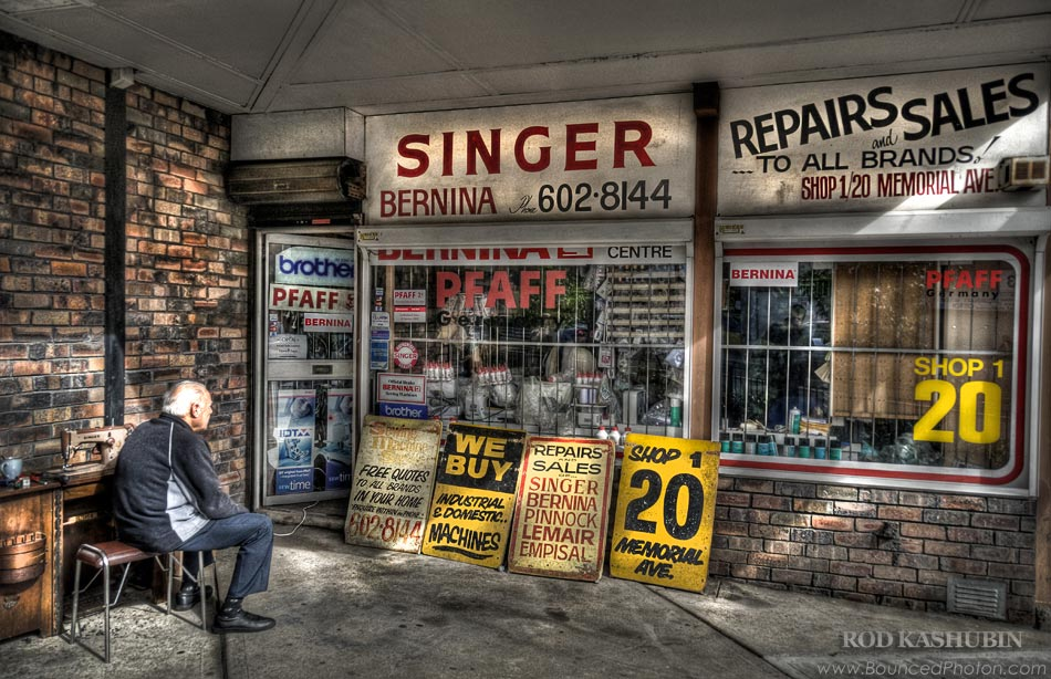 An Old Sewing Shop In Liverpool