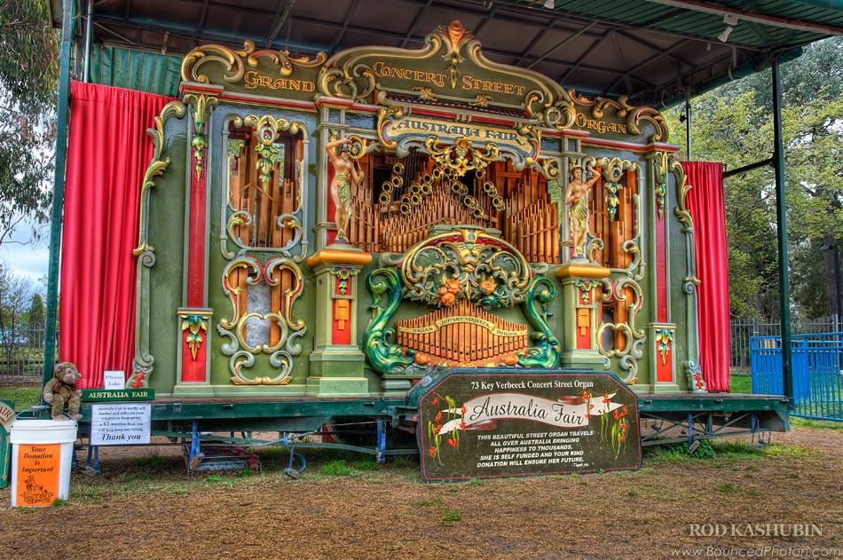Australia Fair Street Organ