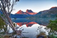 Dove Lake and Cradle Mountain, Tasmania, Australia