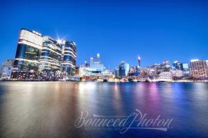 Moonrise Over Barangaroo, Sydney, Australia