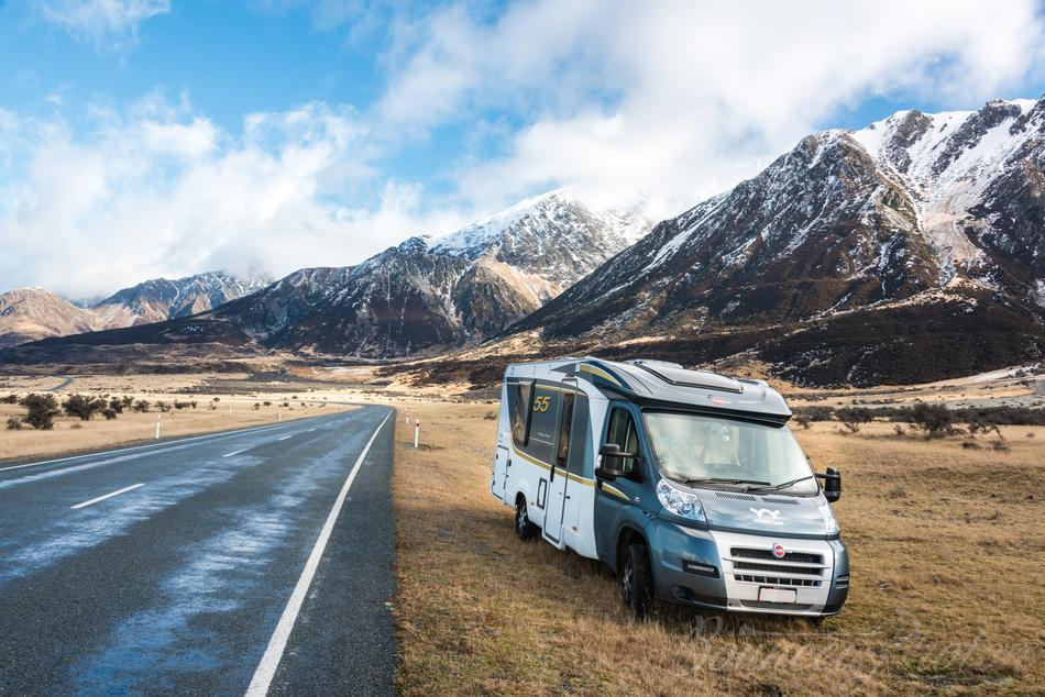 Travelling New Zealand in Winter in a Motorhome