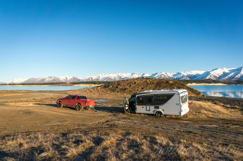 Stuck at Lake Pukaki