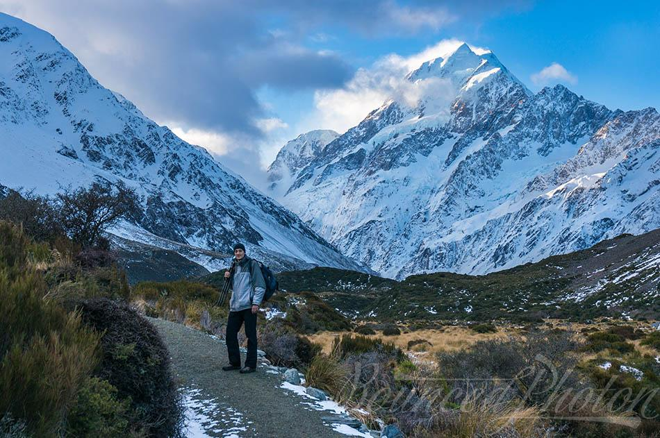 On The Trail To Mount Cook / Aoraki