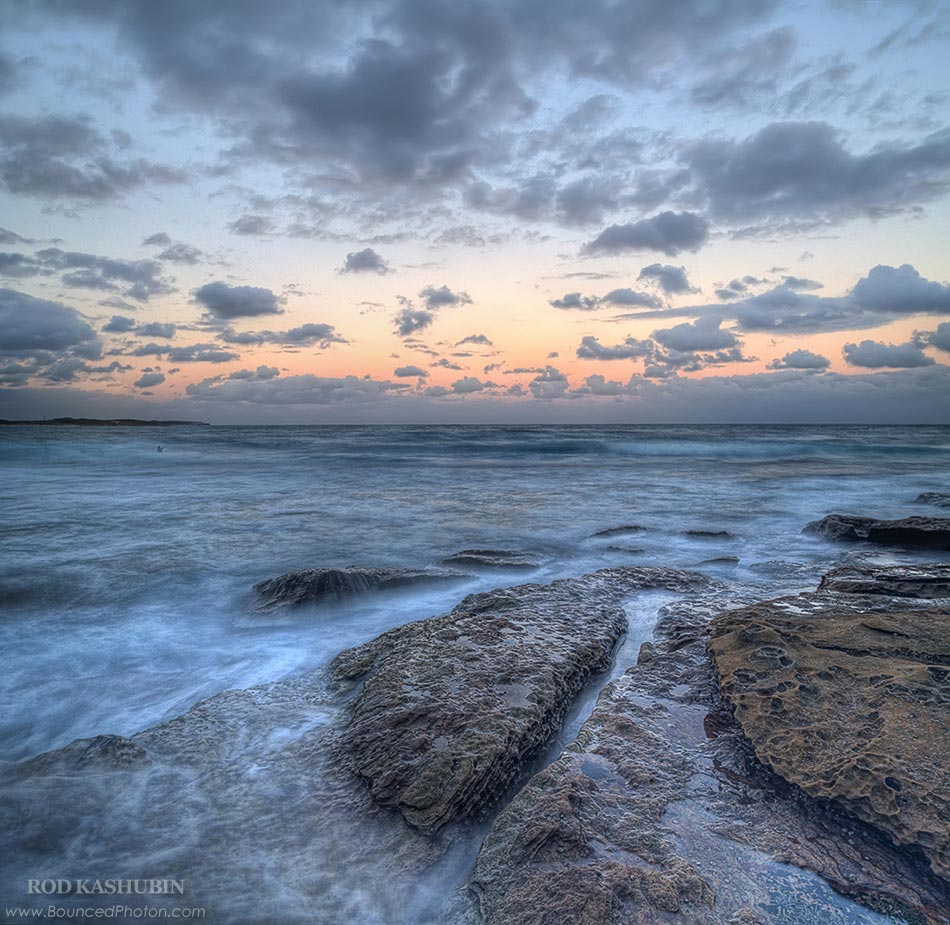 Pink Sunset At Cronulla Beach