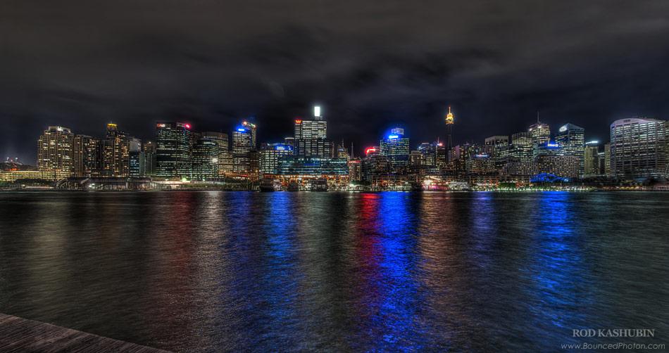 Sydney CBD at Night
