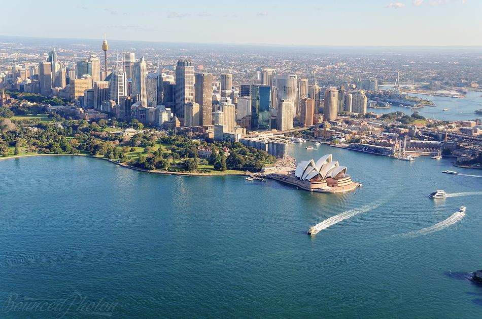 Sydney Helicopter Flight