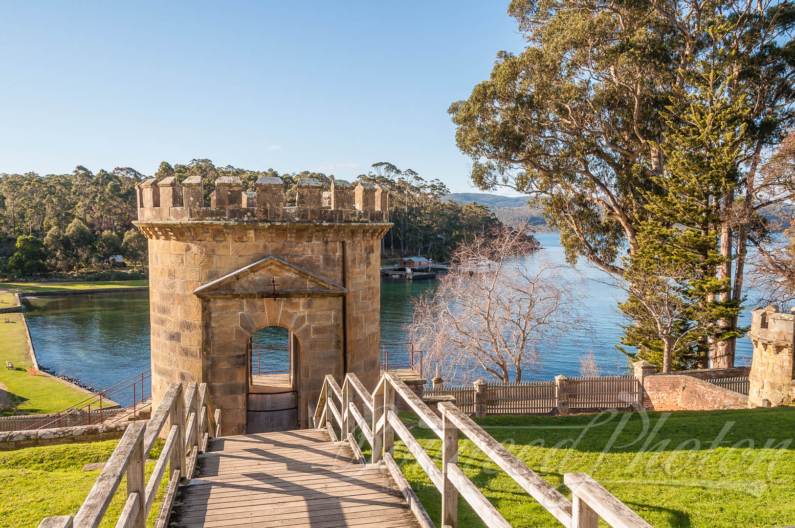 Guard Tower at the Port Arthur